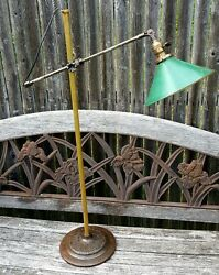 Century Turner O C White Industrial Antique Lamp w Base * Pickup Only $325.00