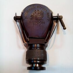 Vintage Brass Antique Pocket Nautical Monocular Telescope Pirate Spyglass $19.00