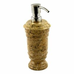 Exotic Fossil Stone Liquid Soap  Lotion Dispenser of Tasmanian Collection
