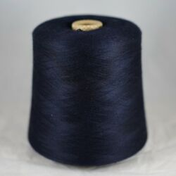 Italian Cashmere Silk 7030 Yarn Cone Lot Midnight Lace Cobweb Knit Weave Thread