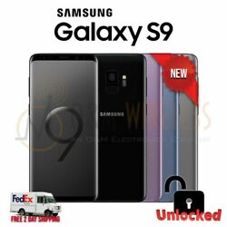 NEW Samsung Galaxy S9 64GB (SM-G960U1 Factory Unlocked GSM+CDMA) - All colors
