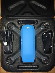 DJI Spark Fly More Combo 1080p Camera Drone Sky Blue $379.00