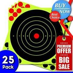 25PK Shooting Targets Reactive Splatter 8