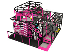 550 sqft Commercial Indoor Playground Interactive Soft Play Turnkey We Finance