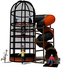 Commercial Indoor Rope Web Playground Interactive Soft Play Turnkey We Finance