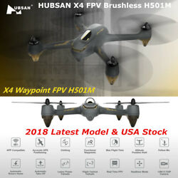 2018 Hubsan H501M X4 WIFI FPV Drone RC Brushless Quadcopter 720P Camera GPS RTF $49.90
