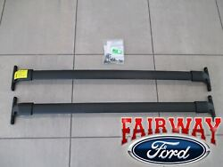 18 thru 20 Expedition OEM Genuine Ford Roof Rack Cross Bar Set 2 pc w Hardware $144.95