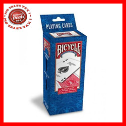 Bicycle Poker Size Standard Index Playing Cards 12 Deck Player's Pack