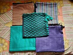 5 High Quality Multicolor Shemagh Yashmagh Keffiyeh Scarf Free Shipping