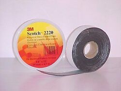 3M 2220-34X15FT 34 in x 15 ft Scotch?� Electrical Stress Contro  100 Rolls