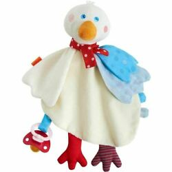 HABA Gallivanting Goose Cuddly Soft Machine Washable Lovey with Pacifier Clip $14.99