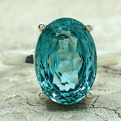 Paraiba Tourmaline 925 Sterling Silver Ring Jewelry DGR1089_A