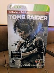 🔥new Tomb Raider Collector's Edition Xbox 360 Lara Croft Play Arts Kai Figure