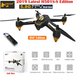 Hubsan X4 H501S RC Quadcopter FPV Brushless 1080P Headless Follow Me GPS Drone $129.00