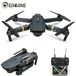 In Stock Eachine E58 WIFI FPV With Wide Angle HD Camera High Hold Mode Foldable  $75.00