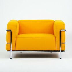 Mid 2000's Cassina Italy Le Corbusier LC3 Grand Modele Armchair MINT 4 Available