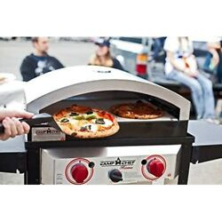 Outdoor Pizza Oven Stone Portable Bread Pie Cookies Yard Camping Patio Cooking