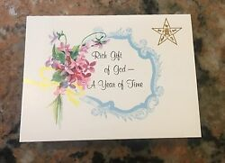 1964 Order Of The Eastern Star Calendar Card 3.5quot; X 3quot; $4.95