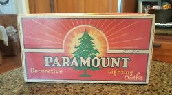 Vintage Paramount Decorative Lighting Outfit Christmas Lights in Original Box