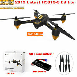 Hubsan H501S S X4 Drone 5.8G FPV Brushless 1080P Camera Quadcopter GPS RTH BNF $139.00