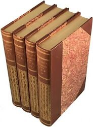 THE CONFESSIONS OF JEAN-JACQUES ROUSSEAU - 4 volumes - NF - 1904