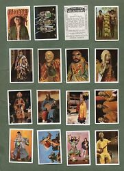 Cigarette cards set Exotic People set 1925  Native Americans Chineseand more