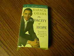1048) The Audacity of Hope Thoughts on Reclaiming the American Dream By B Obama
