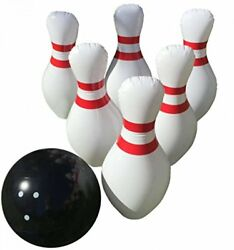 Giant Inflatable Bowling Game Set - Indoor Outdoor  Jumbo Size - 24