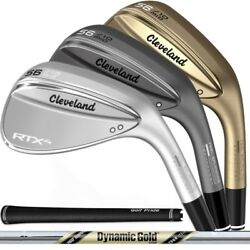 NEW 2019 Cleveland RTX-4 Wedge - Choose Your Loft Color and Bounce - RTX4 $89.99