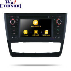 Android 9.0 Car DVD Player For BMW E81E82E88 1 Series 2004+ Multimedia Stereo