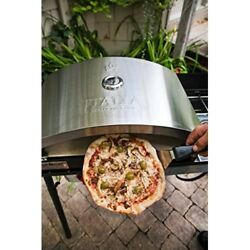 Outdoor Pizza Oven Artisan Ceramic Wood Fired Patio Baking Yard Grill Accessory