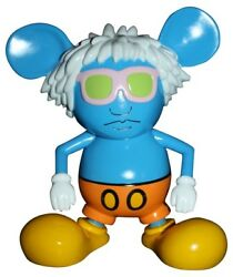 Keith Haring - Andy Mouse (Blue) - Limited Edition