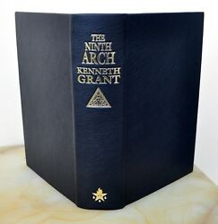 NINTH ARCH Full Leather Lettered Ed C7 Kenneth Grant Qliphoth Grimoire