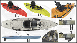 2019 Hobie Mirage Outback Pedal Fishing Kayak (Multiple Colors Available)