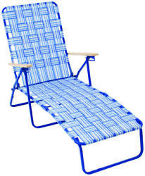 RIO Web Lounger '42-12 in H x 21 in W Steel Frame
