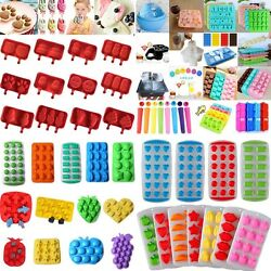 Ice Cube Tray Maker Mould Chocolate Jelly Sweet Candy Tray Sweetie Mold 60Styles