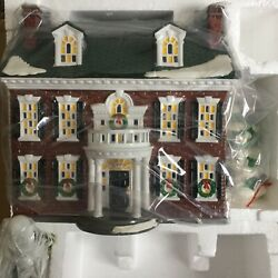Dept 56 Snow Village® FEDERAL HOUSE TOTAL OF 4 BRAND NEW STILL IN CASE