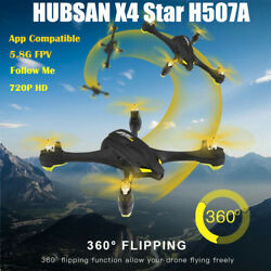 Hubsan H507A X4 Star Wifi FPV RC Quadcopter Drone 720P Camera WayPoint GPS RTF $40.00