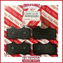 2003-2020 TOYOTA 4RUNNER FRONT CERAMIC BRAKE PADS GENUINE OEM NEW 04465-AZ100