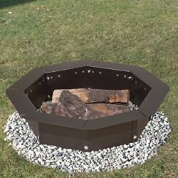 Heavy Duty Bolt-Together Campfire Ring or Fire Pit Insert Model IO-308 Park