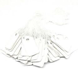 white price tags for jewelry crafts and more 23mm x 13mm paper string $2.99