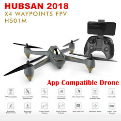 Hubsan H501M X4 FPV Drone Brushless RC Quadcopter 720P Camera GPS Wifi APP RTF $49.90