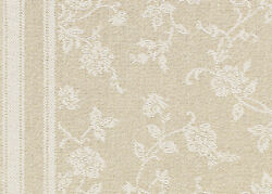 Coral Gables Bisque Pattern Custom Cut Indoor Carpet Area Rugs