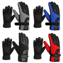 Touch Screen Gloves for Men Cold Weather Windproof Thermal Glove for Smartphone $8.99