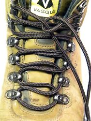 2 Pair Pack - proBOOT Multi-color rugged wear Heavy Duty round boot shoelaces  $8.99