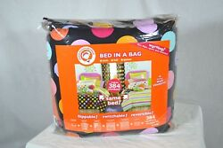 little miss matched Zany Bed in a Bag Twin kids sheet set $180 (dots