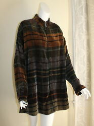 FIBER ARTIST 1X 2X 3X Unreal Loominus Weavers Handwoven Art-to-Wear RICH Jacket