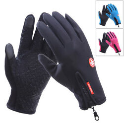 Touch Screen Fuction Cold Weather Windproof Thermal Gloves For Man and Women $9.35