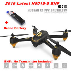 Hubsan H501S S X4 Pro Drone FPV Live Video Brushless 1080P Quadcopter GPS BNF $110.00
