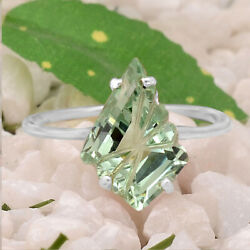 Green Sapphire 925 Sterling Silver Ring Jewelry Size 6-9 DGR1098_E